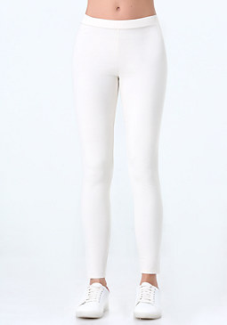 bebe Logo Basic Leggings