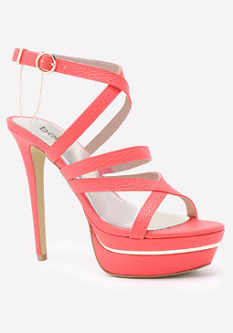 bebe Ellaa Ankle Strap Sandals