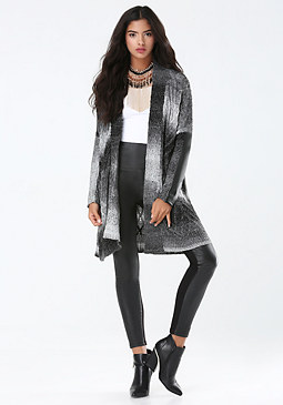 bebe V-Cable Cardigan