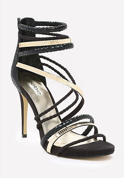 bebe Nedda Strappy Sandals