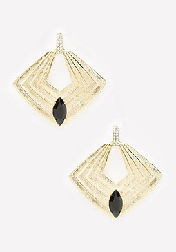 bebe Art Deco Inspired Earrings