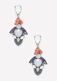 Cluster Statement Earrings