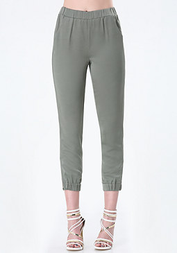 bebe Side Zip Detail Track Pants