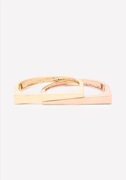 bebe Hinge Bracelet Set