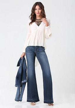 bebe Medium Flare Jeans
