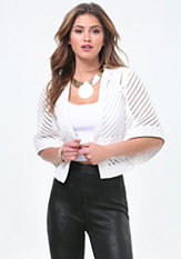 bebe Melody Crop Jacket