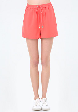bebe Faux Cuffed Shorts