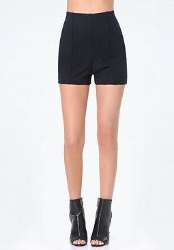bebe High Waist Hot Pants