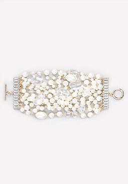 bebe Pearlescent Bracelet