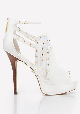 bebe Ayssa Studded Booties