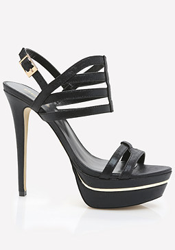 bebe Hastii Cage Sandals