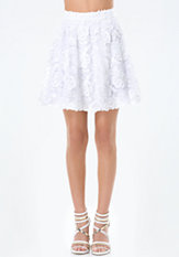 bebe Applique Circle Skirt