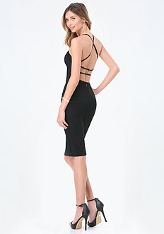 Monika Strappy Back Dress