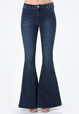 bebe Super Flared Jeans
