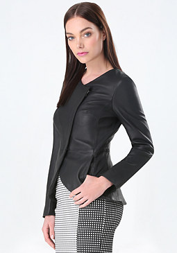 bebe Regina Leather Jacket