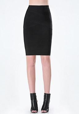 bebe Cynthia Bandage Skirt