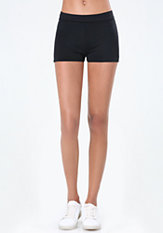 bebe Power Knit Bodycon Shorts