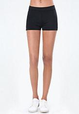 bebe Power Knit Bodycon Shorts