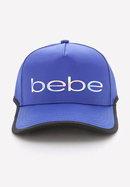 bebe Contrast Edge Ball Cap