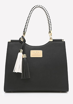 bebe Rope Handle Tote