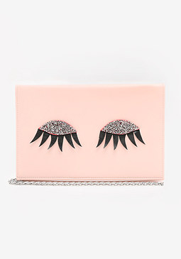 bebe Eyelashes Clutch
