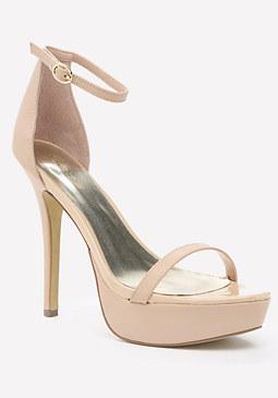 bebe Ensie Ankle Strap Sandals
