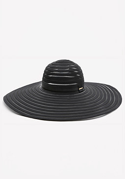 bebe Shadow Stripe Floppy Hat