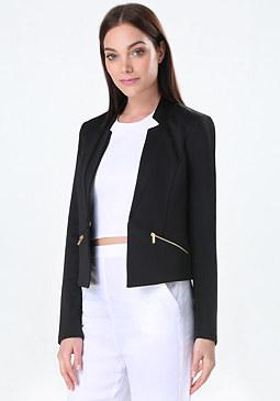 bebe Diana Scuba Jacket