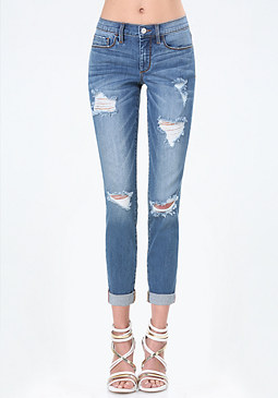 bebe Cassie Girlfriend Jeans