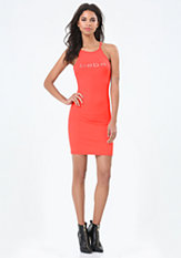bebe Logo Tank Dress