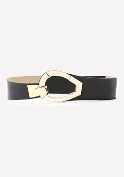 bebe Front Hook Stretch Belt