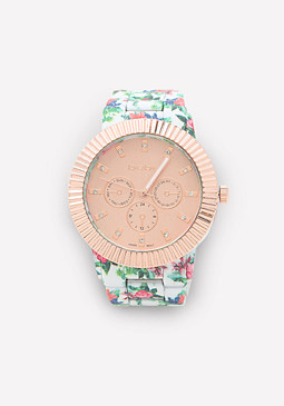 bebe Optic Blooms Watch