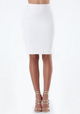 bebe Petite Seamed Pencil Skirt
