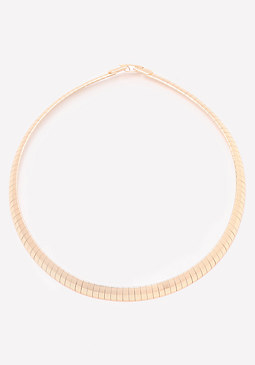 bebe Smooth Coil Collar Necklace