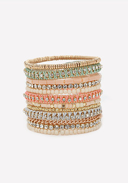 bebe Friendship Bracelet Set