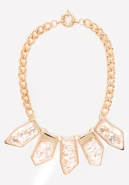 bebe Pearlescent Necklace