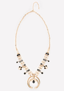 bebe Squash Blossom Necklace