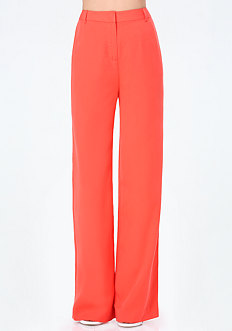 Twill Wide Leg Pants