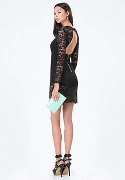 bebe Lace Lingerie Dress