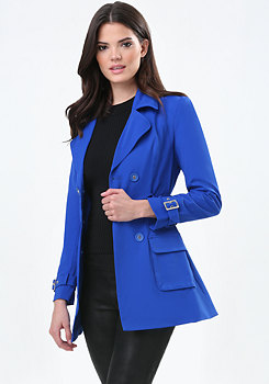 bebe Nancy Trench Coat