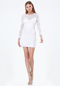 bebe Jenny Lace Dress
