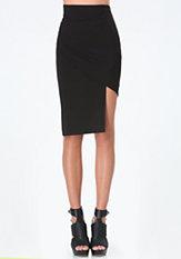 bebe Kirstie Asymmetric Skirt