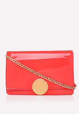 bebe Disc Shoulder Bag