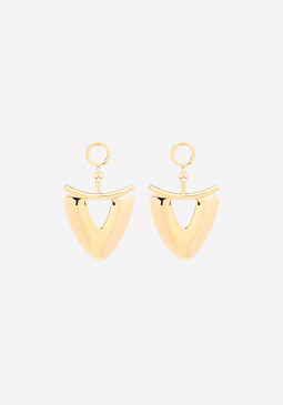 bebe Tribal Drop Earrings
