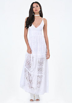 Gia Lace Maxi Dress