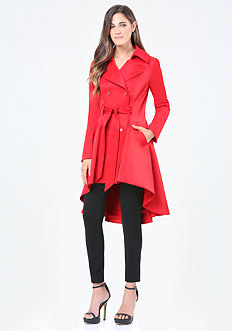 Hi-Lo Trench Coat