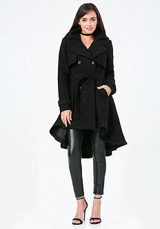 Boucle Hi-Lo Coat