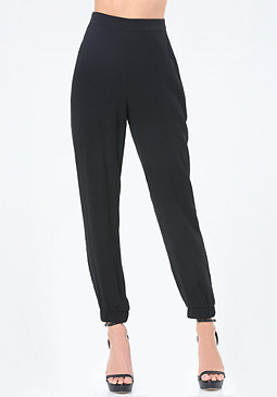 bebe Dianne Silk Pants