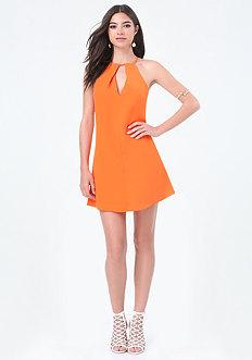 Flirty A-Line Dress