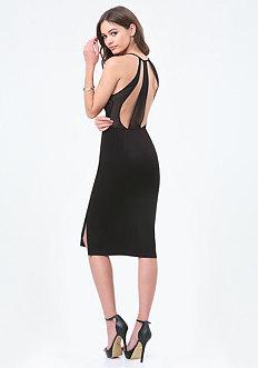 Kyra Illusion Back Dress